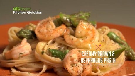 Ep 32 spaghetti with last minute tomato sauce kitchen quickies ep 33 creamy prawn asparagus pasta kitchen quickies asian food channel forumfinder Images