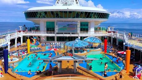 All Hands on Sports Deck | Cruisin' with Royal Caribbean | Asian Food Channel