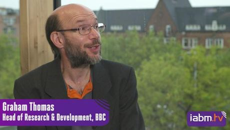 IABM TV speak to Graham Thomas from the BBC about immersive and interactive technology