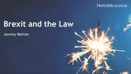 IABM Webinar - Brexit and the Law
