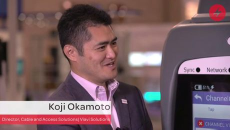 Light Reading Interview with Viavi's Koji Okamoto on Gigabit Services at the 2016 SCTE Cable Tec Expo