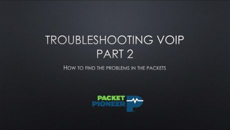VIAVI Troubleshooting VoIP - Part 2