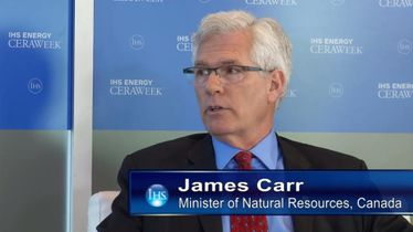James Carr, Minister of Natural Resources, Canada