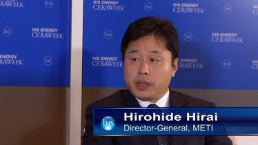 Hirohide Hirai, Director-General, Agency for Natural Resources & Energy, METI, Japan