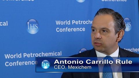 Antonio Carrillo Rule, CEO, Mexichem