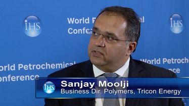 Sanjay Moolji, Business Dir. Polymers, Tricon Energy