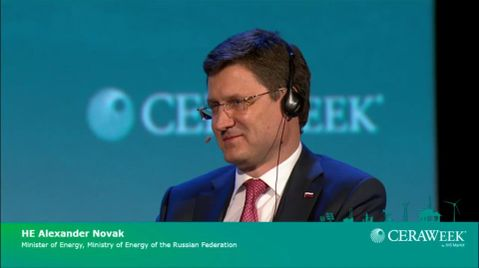 Ministerial Address with HE Alexander Novak