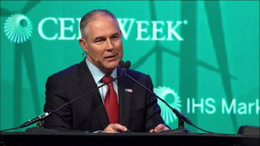 Environmental policy dialogue with Scott Pruitt
