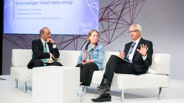 Voices of Innovation with Diane Greene, CEO, Google Cloud and Ashok Belani, Executive Vice President Technology, Schlumberger: Cloud meets energy