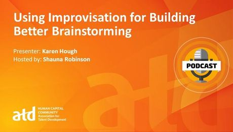 Using Improvisation for Building Better Brainstorming