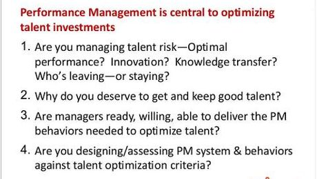 Performance Management and the Employee Experience