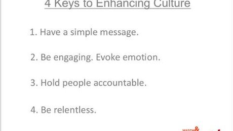 4 Keys to Enhancing Your Healthcare Culture
