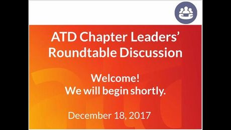 Chapter Leader Roundtable: Communities of Practice and Special Interest Groups