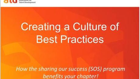 Chapter Recognition Committee Best Practices Webcast