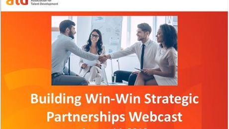Building Win-Win Strategic Partnerships