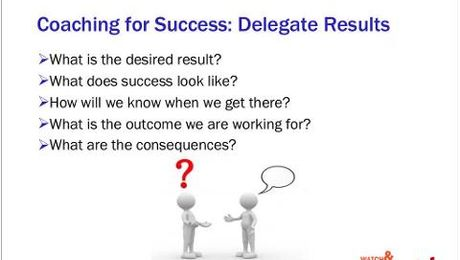 Who's Got the Ball? Effective Delegation  Increases Capacity