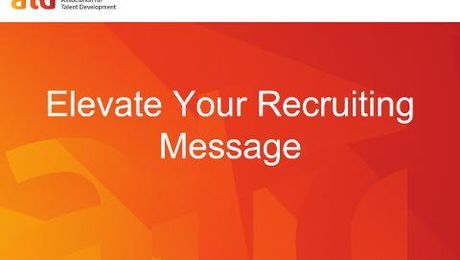 Elevate Your Recruiting Message