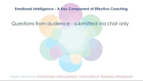 Emotional Intelligence: A Key Component of Effective Coaching