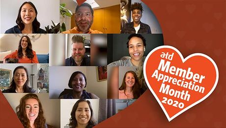 Happy Member Appreciation Month from the ATD staff