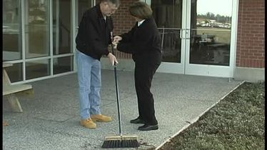 IADLs: Sweeping the Sidewalk