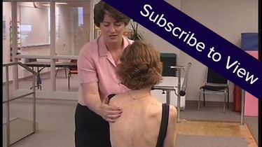 Scapular Mobilization: Protraction