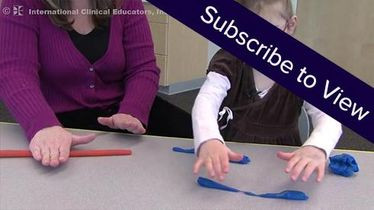 Peds, Fine Motor: Letter Formation with Playdough