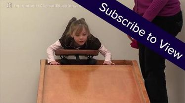Peds, Sensory Integration/Sensory Processing: Scooterboard and Letter Recognition Activity