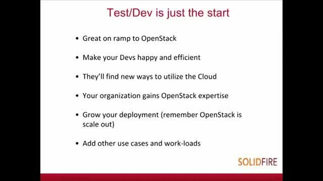 Initial Use Cases for OpenStack & Cinder In Your Enterprise IT Strategy