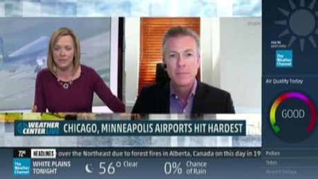Mark Murphy on The Weather Channel 09/26/14
