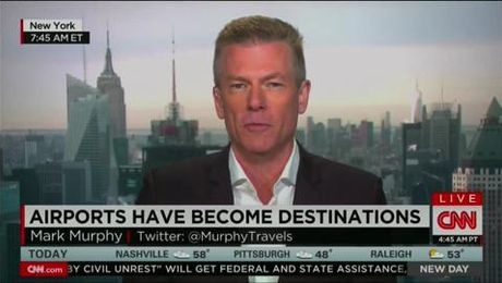 Mark Murphy Joins CNN New Day to Discuss Thanksgiving Travel (11/29/2014)
