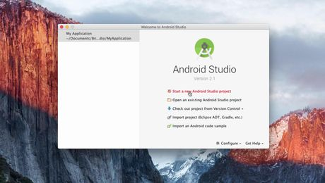DwAndroidSDK - 5 - Creating an Android project