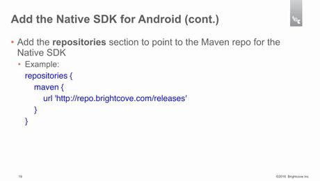 DwAndroidSDK - 6 - Adding the Native SDK for Android