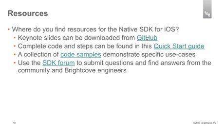 DwiOSSDK - 3 - Reviewing tools and resources
