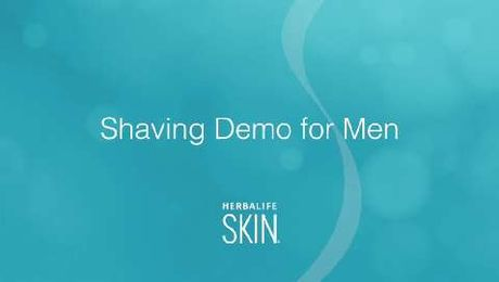 Shaving made simple with Herbalife SKIN
