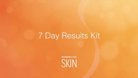Introducing the Herbalife SKIN� 7-Day Results Kit