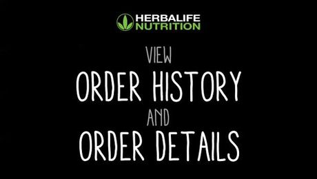 View Order History and Order Details