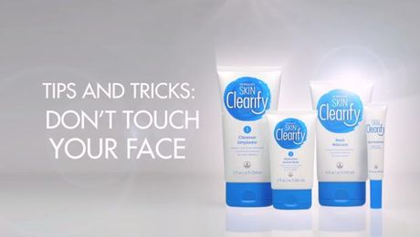 Tips and Tricks: Don�t touch your face