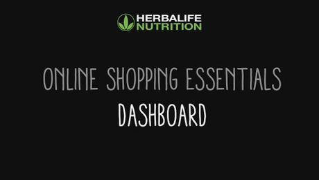 Online Shopping Essentials - Dashboard