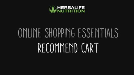 Online Shopping Essentials - Recommend Cart