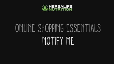 Online Shopping Essentials - Notify Me