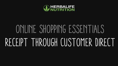 Online Shopping Essentials - Customer Direct Receipt