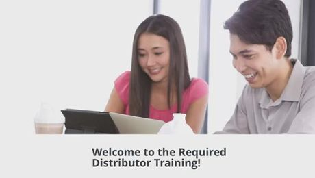 Required Distributor Training