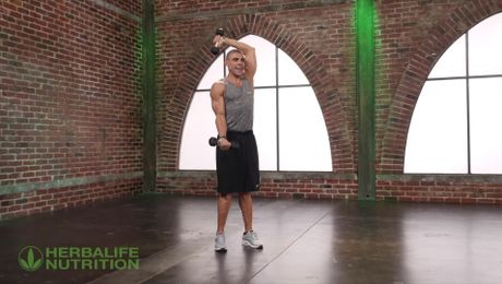 Upper body workout with Sasa Nocerino
