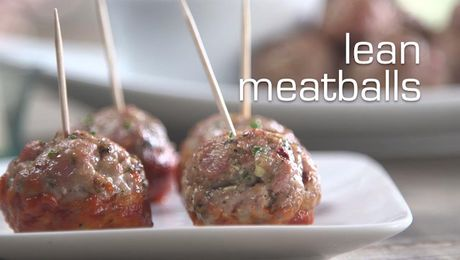 Recipe for the Big Game: Lean Meatballs