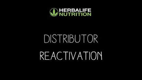 Distributor Reactivation