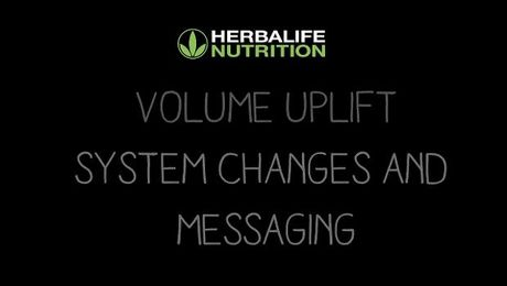 Nutrition Club Volume Uplift System Changes