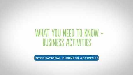 WYNTK - International Business Activities