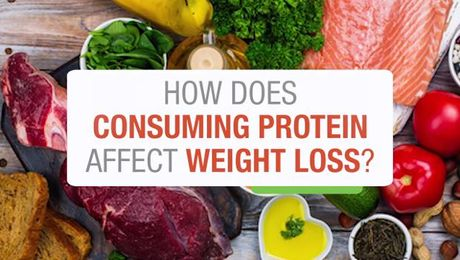 How Does Consuming Protein Affect Weight Loss?