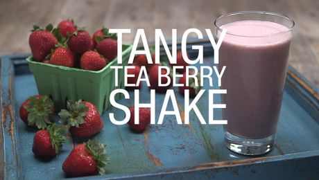 Tangy Tea Berry Shake