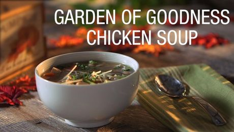 Garden of Goodness Chicken Soup